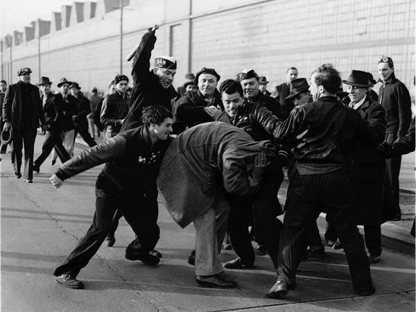 """Bunt štrajkača Forda"" - Milton Brooks"